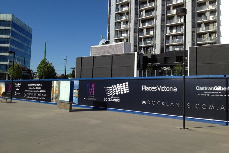 Hoarding PVC Banner