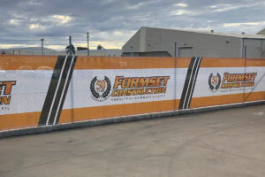 Formset Constructions Printed Banner Mesh