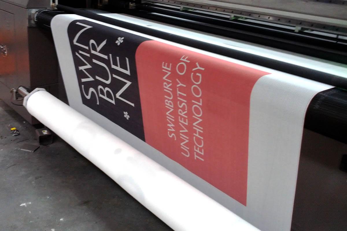 Printer Printing Printed Banner Mesh