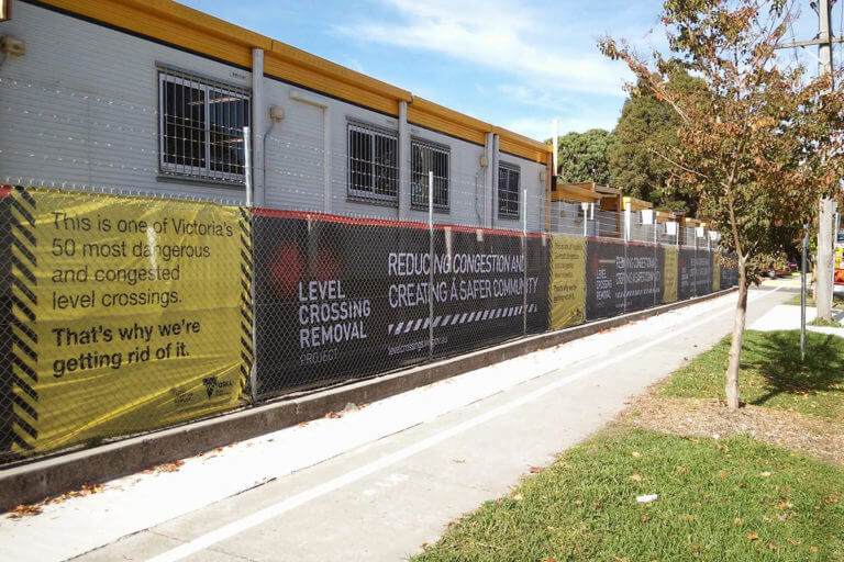 Fence Wrap Advertising