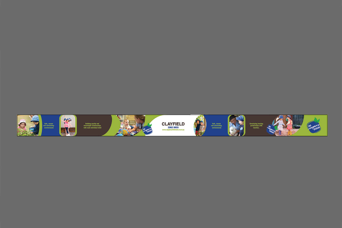 Full Colour Print Fence Banners