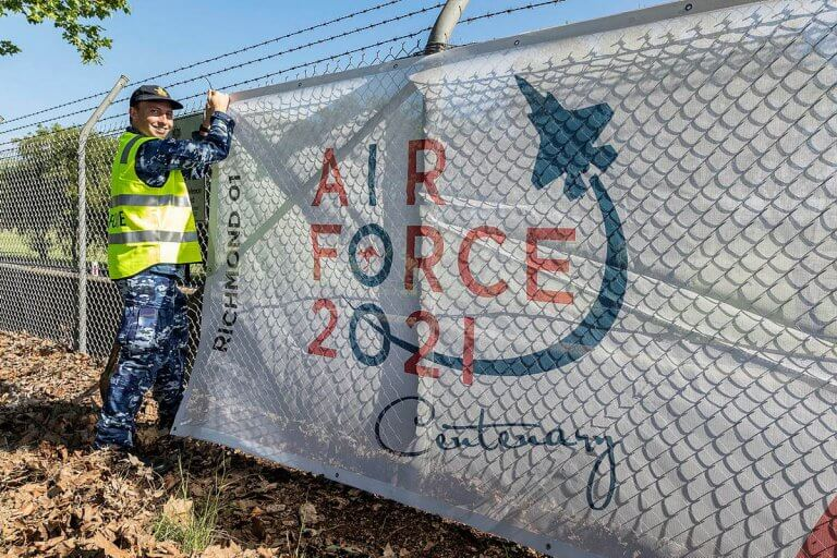 Air Force 2021 Mesh Cloth Banners Awesome Design