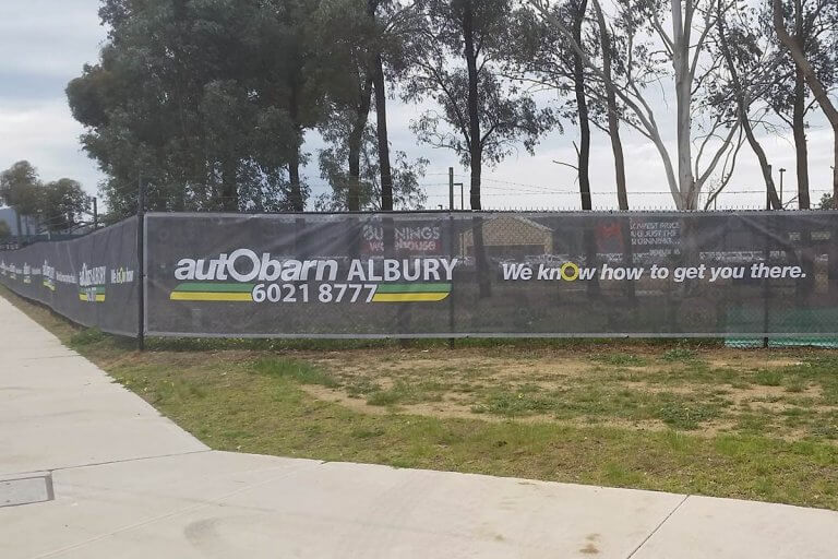 Autobarn Printed Mesh Banners Awesome Design