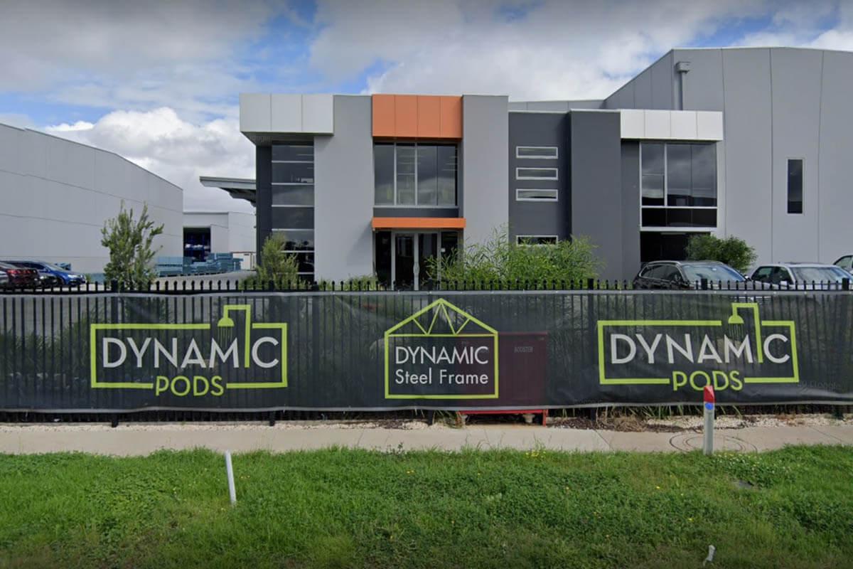 Dynamic Steel Frame Full Colour Mesh Banners