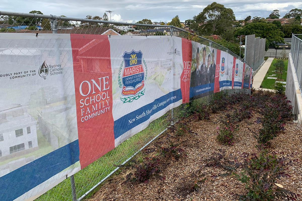 Fence Mesh Shade Cloth Marist College