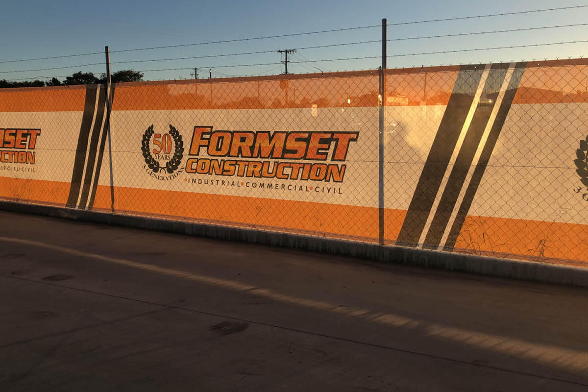 Formset Construction Shadecloths