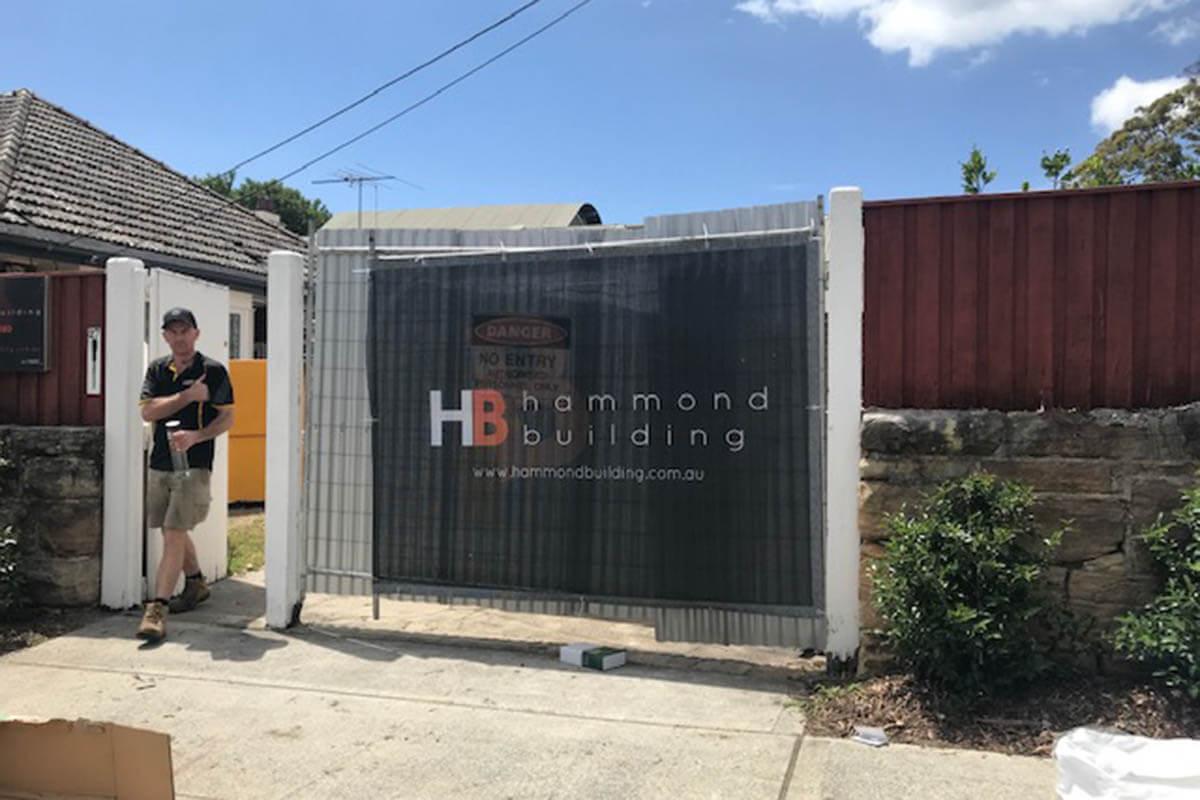Hammond Building Printed PVC Mesh