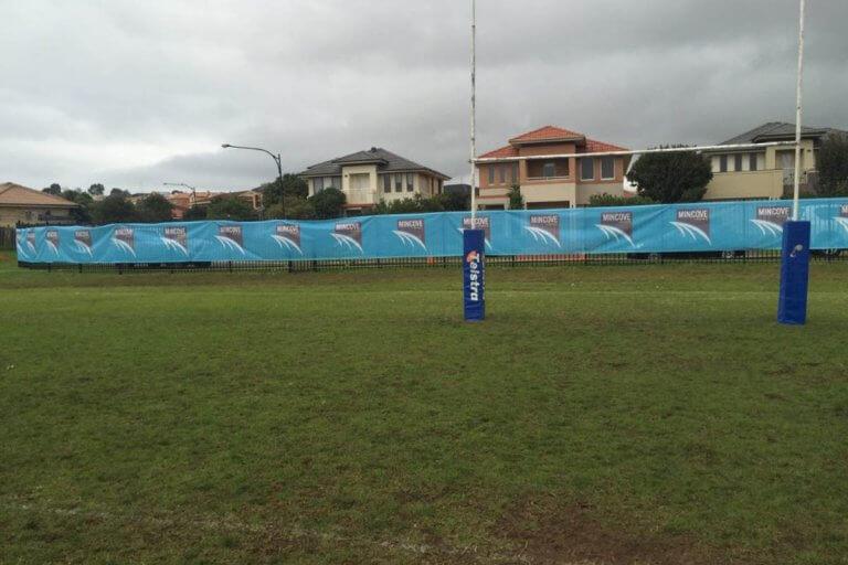 Mincove Printed PVC Mesh Football Oval
