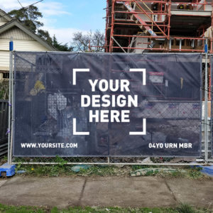 Your Brand On A Fence