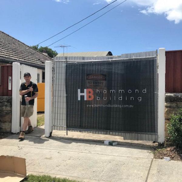 Custom Printed Fence Panel - Hammond