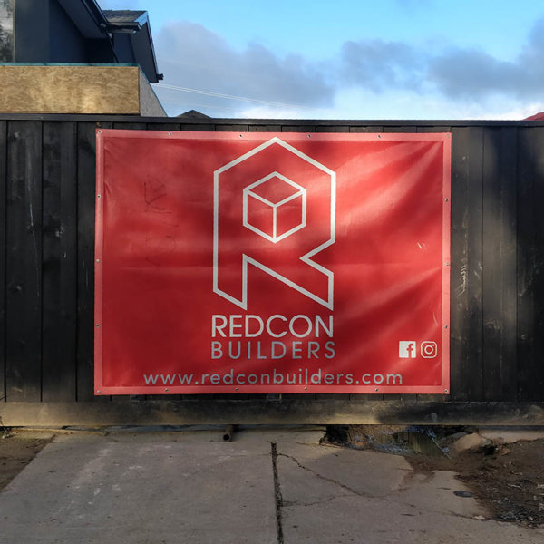 Custom Printed Fence Panel - REDCON