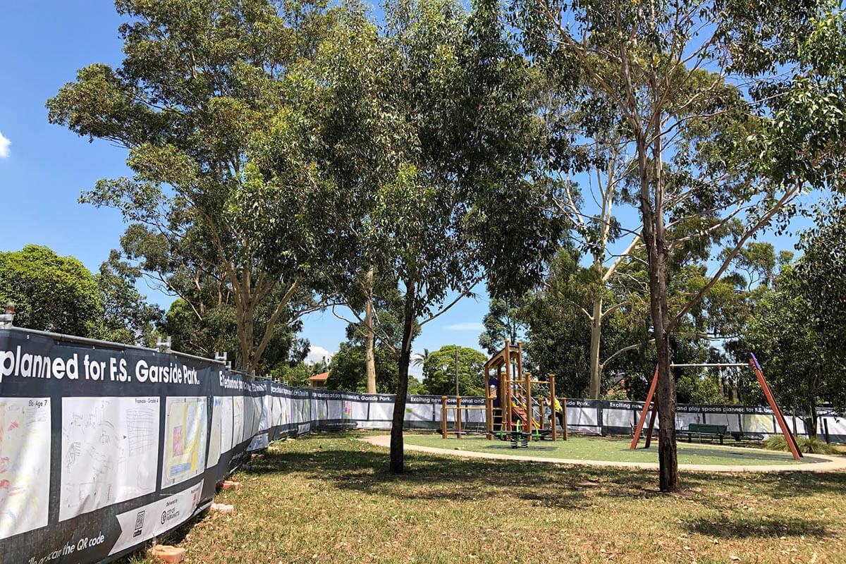 Paramatta Construction Shadecloths Community Project