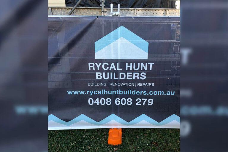 Rycal Vibrant Printed Fence Banner Mesh