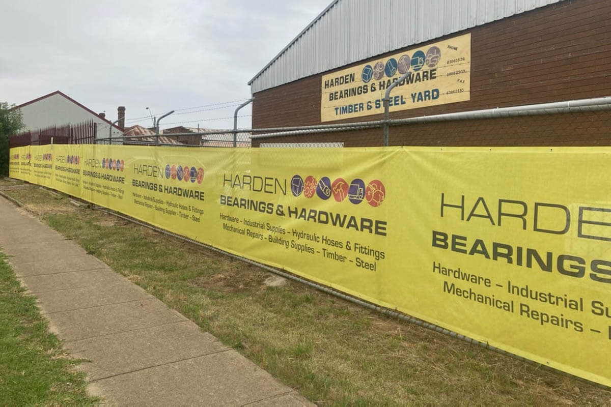 Shade Cloth For Fence Advertising Harden Bearings