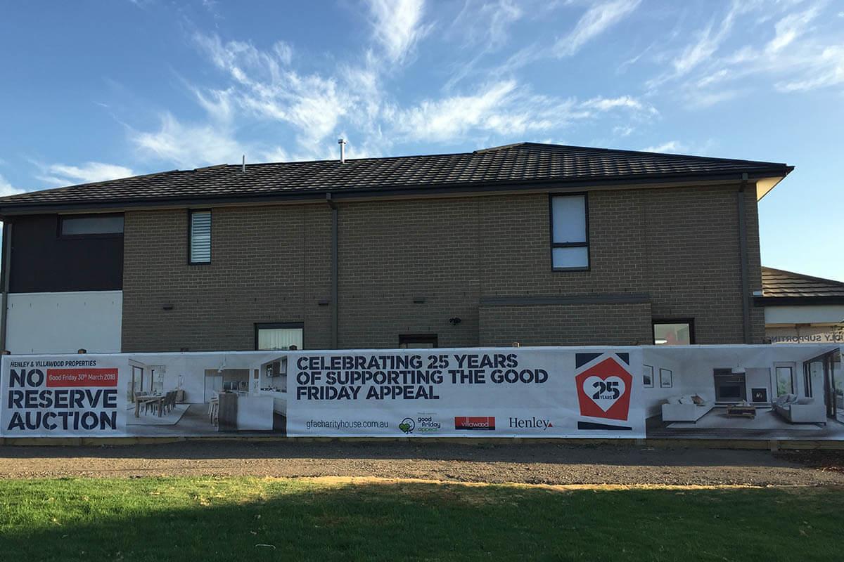 Villawood Printed Fence Banner Mesh