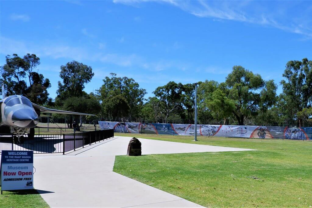 Wagga AirForce Shade Cloth For Fence Advertising